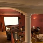 Home Theatre Room in Blacksburg, VA