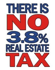 Real Estate Tax 235x300 A 3.8% Real Estate Tax Is Not In The Health Care Law